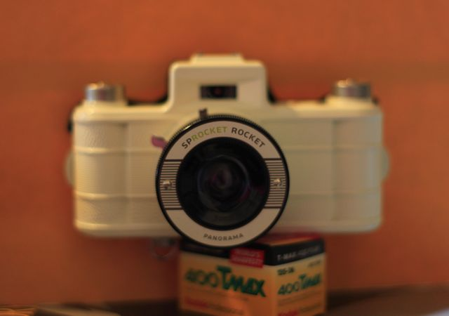 Sprocket Rocket Camera : Testing a sprocket rocket camera fireside five