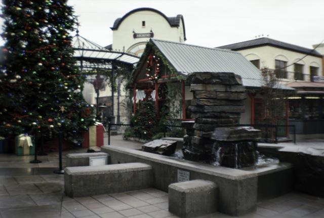Santa's hut at Bridgeport