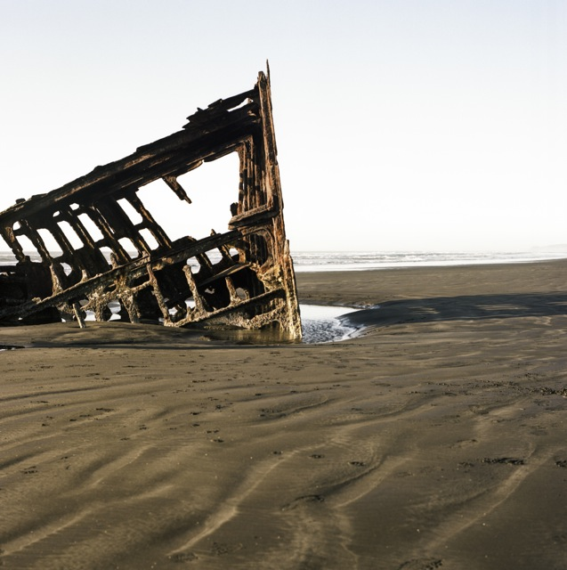 British ship wreck