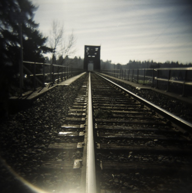 did you know that it is against the law to walk the tracks?