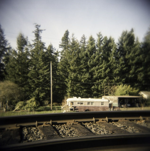 living on the tracks