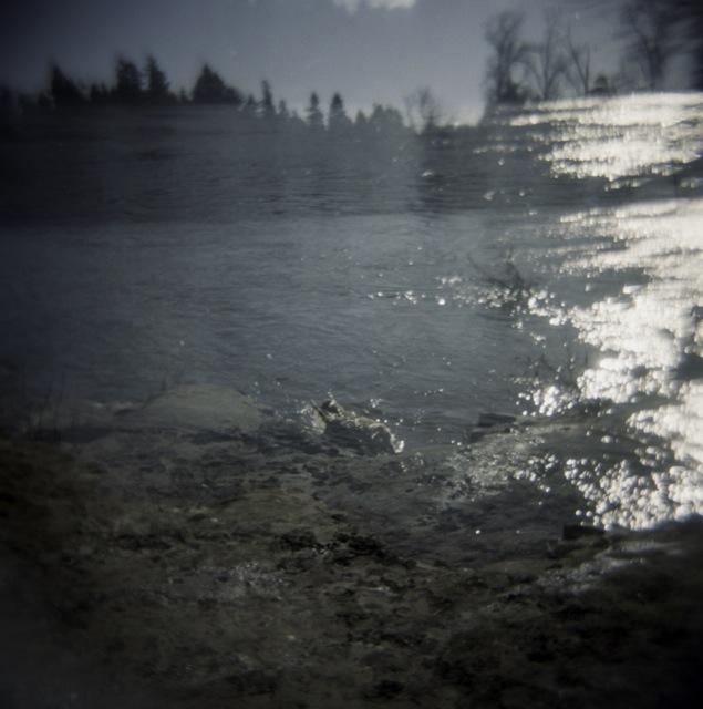river double exposure