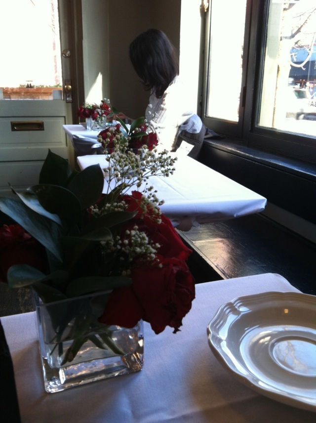 tables at Sterling Roasters