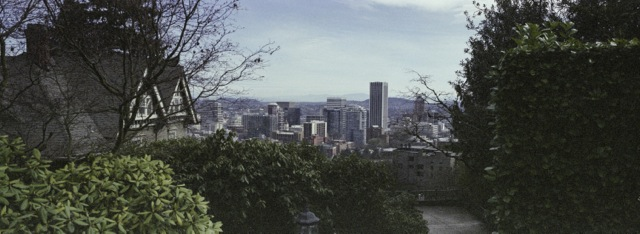 a peak at downtown Portland