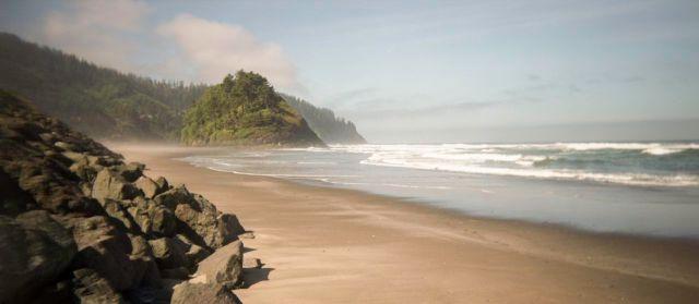 low tide at Neskowin