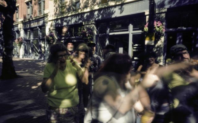 Seattle vs. Portland pinholers taken with a pinhole camera