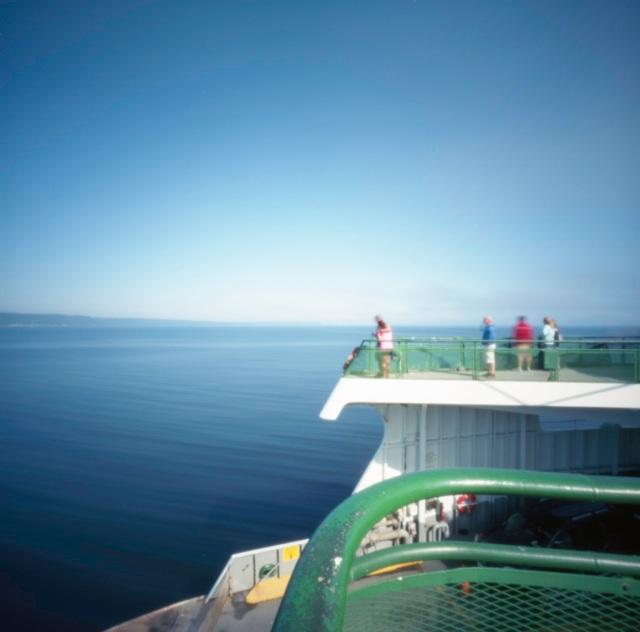Edmonds to Kingston ferry