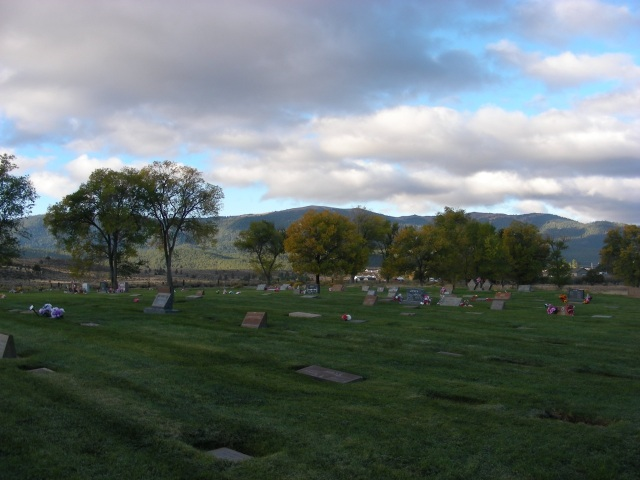 the cemetery in Susanville