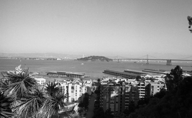 Toward the Bay Bridge and Treasure Island