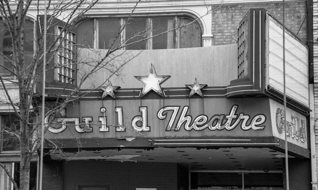 the old Guild theater
