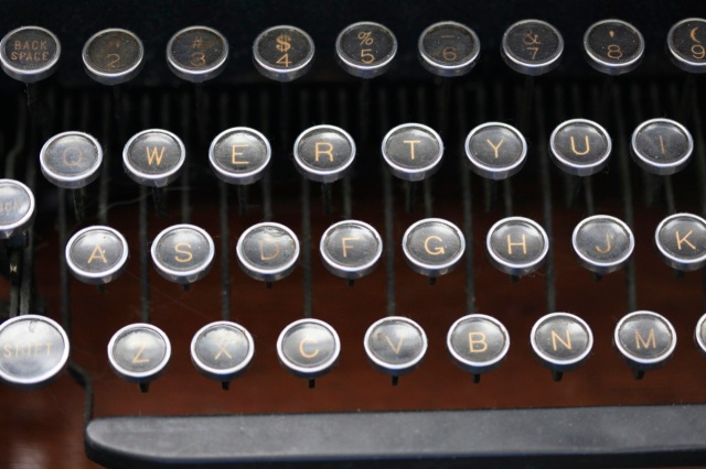 my old Underwood typewriter