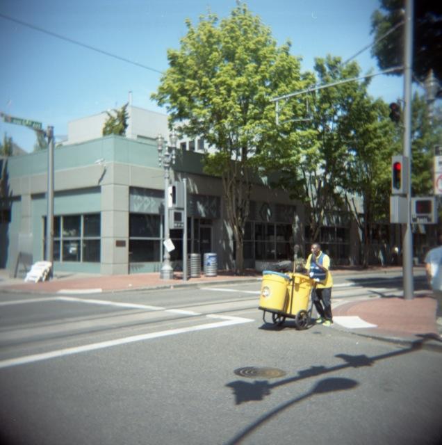 keeping Portland clean