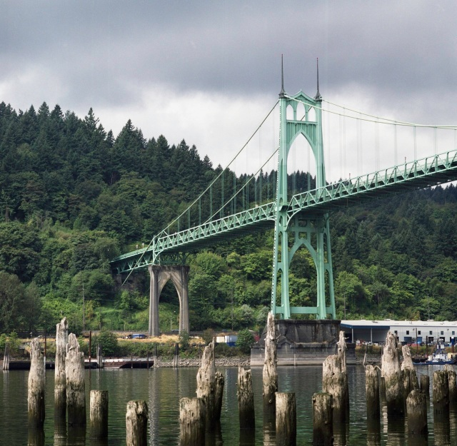 15. Bridges in Portland_St Johns