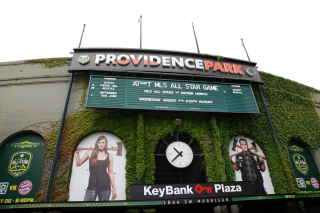 home of the Portland Timbers
