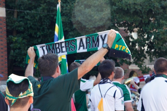 the Timbers Army was well represented