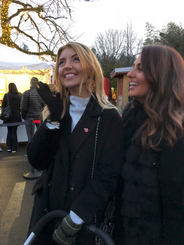 lovely smiles at Zoo Lights